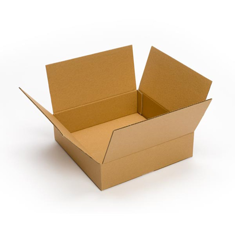 25 pack 15x15x4 cardboard corrugated box packing shipping. Black Bedroom Furniture Sets. Home Design Ideas