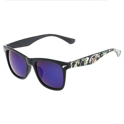 LVZAIXI Gafas de sol Wayfarer polarizadas - Ofrece protección completa UV400 - Disponible en 4 colores