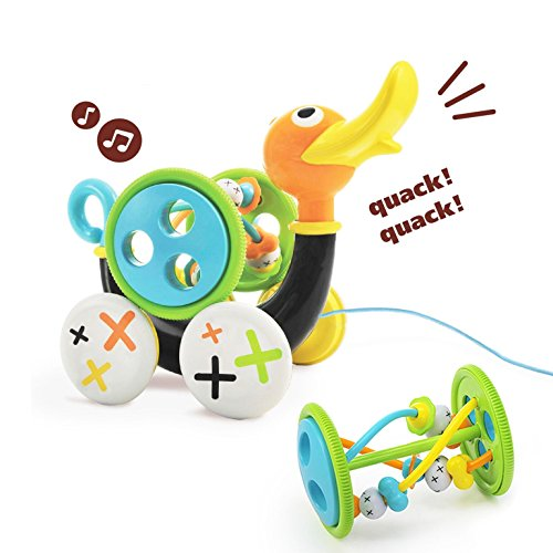 Duck Musical Pull Toy - 1