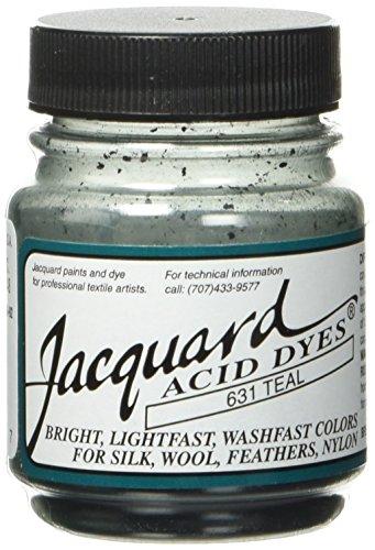 Jacquard Acid Dyes 1/2 Ounce-Teal - Jacquard Silk Fabric