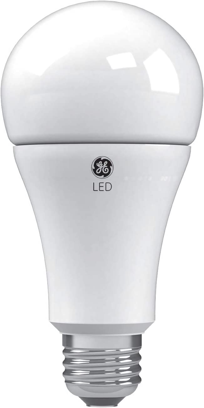 GE Lighting 24132 Soft White LED 3-Way 50/100/150-Watt Replacement A21 Bulb Medium Base