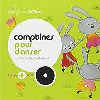 Comptines pour danser (1CD audio) par Cécile Hudrisier