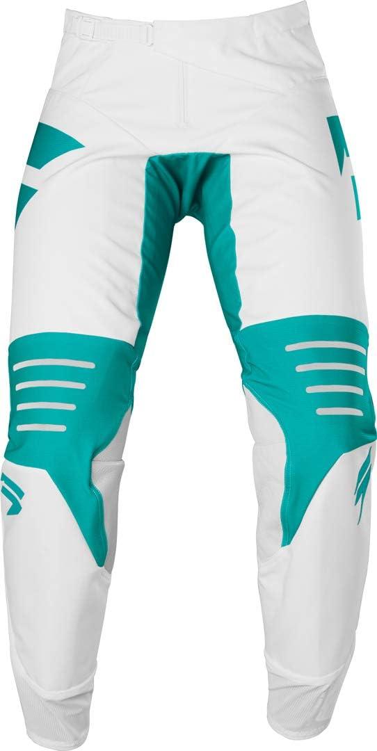 2020 Shift Black Label Race 1 Pants-White//Green-38