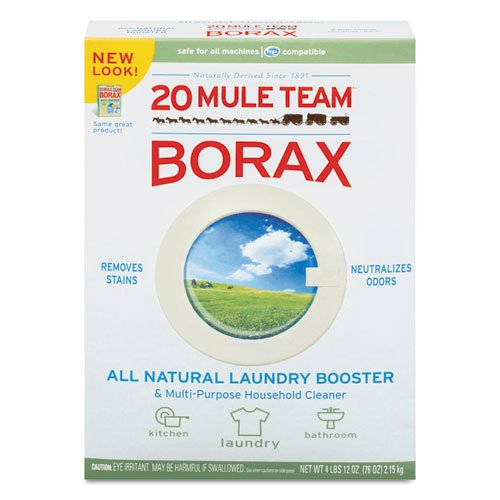 20 Mule Team Borax Laundry Booster Powder 4 Lb Box In