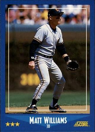 1988 Donruss Baseball Rookie Card #628 Matt Williams
