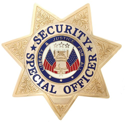 Security Special Officer Gold 7-point St - Gold Enameled Star Shopping Results