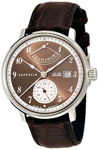 ZEPPELIN Watches LZ129 Hindenburg Brown 70605 Men's [regular imported goods]