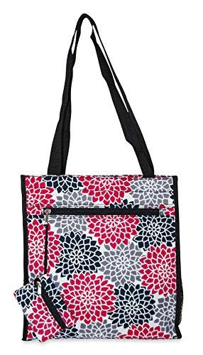 Ever Moda Floral Tote Bag