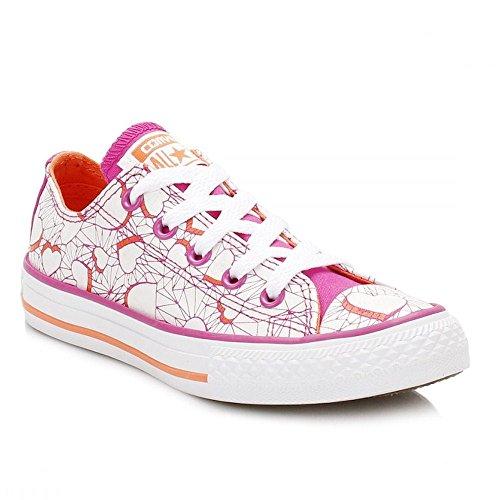 Converse , Mädchen Schnürhalbschuhe rosa magenta