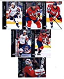 2015-16 Upper Deck Washington Capitals Hockey Master Team Set of 13 Cards: Alexander Ovechkin(#185), Brooks Orpik(#186), Evgeny Kuznetsov(#187), John Carlson(#188), Matt Niskanen(#189), Nicklas Backstrom(#190), Jay Beagle(#191), Karl Alzner(#436), Marcus
