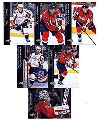 2015-16 Upper Deck Washington Capitals Hockey Master Team Set of 13 Cards: Alexander Ovechkin(#185), Brooks Orpik(#186), Evgeny Kuznetsov(#187), John Carlson(#188), Matt Niskanen(#189), Nicklas Backstrom(#190), Jay Beagle(#191), Karl Alzner(#436), Marcus