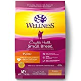 Wellness Complete Health Natural Dry Small Breed Puppy Food, Turkey, Salmon & Oatmeal, 12-Pound Bag