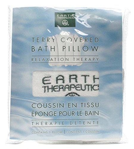 Earth Therapeutics Terry Covered Bath Pillow - 9