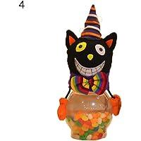 CHoppyWAVE Halloween Candy Jar Gifts Trick or Treat Toy Doll Sweets Storage Box Decoration