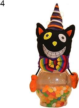 CHoppyWAVE Halloween Candy Jar Gifts Trick