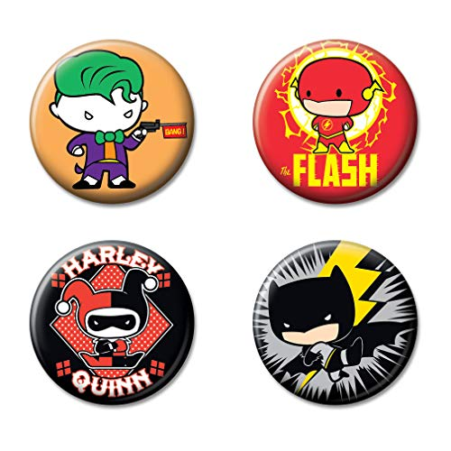 League Collectible - Ata-Boy DC Comics Justice League Chibi Set of 4 1.25
