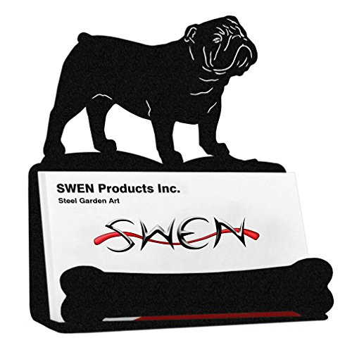 SWEN Products ENGLISH BULLDOG Business Card - Card Business Bulldog