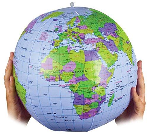 Tobar- Globe terrestre à gonfler 07734