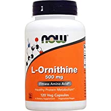 Now L-Ornithine (500mg) 120 caps