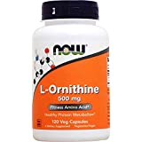 NOW Foods L-ornithine, 120 Capsules / 500mg