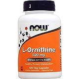 NOW L-Ornithine 500 mg,120 Veg Capsules