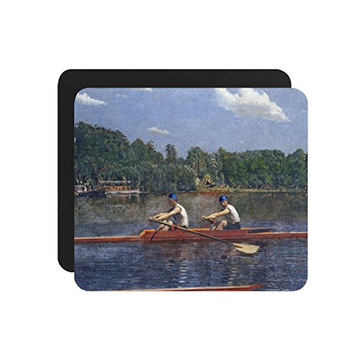 Biglin Brothers Racing (Thomas Eakins) Computer Laptop Mouse Pad