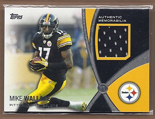 2012 Topps Prolific Playmakers Relics #PPRMW Mike Wallace Jersey -
