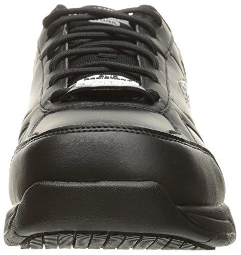 Skechers Per Il Lavoro Mens Dighton Slittamento Lavoro Resistente Scarpa Nera