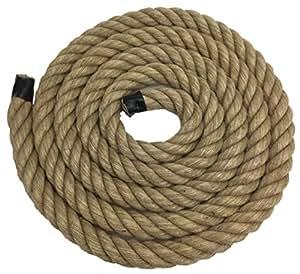 36mm cuerda de yute natural x 20Metre longitud–4hebras, Decking cuerda, cuerda de jardín, Boating, casa–RopeServices UK