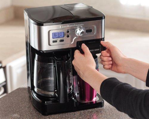Hamilton Beach FlexBrew 49983A Single Serve / Full Pot Coffee Maker 11street Malaysia ...