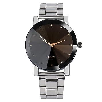 Amlaiworld Reloje Hombres Mujeres relojes deportivos baratos Reloj de pulsera de cuarzo analógico de
