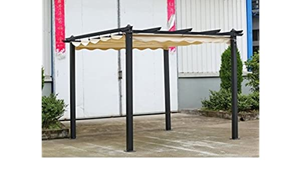 Pérgola de aluminio, 3 x 4 metros: Amazon.es: Jardín