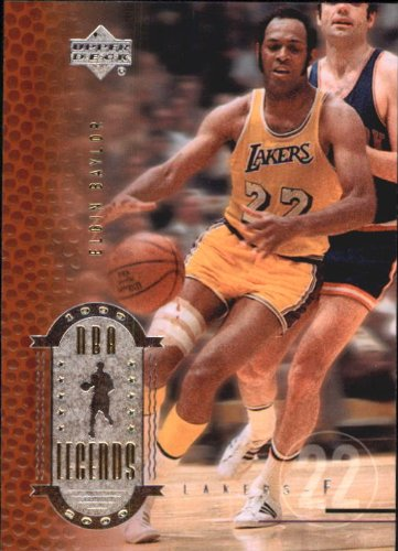2000 Upper Deck Century Legends Basketball Card (2000-01) #9 Elgin Baylor Near Mint/Mint