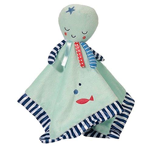 Douglas Octopus Lil Snuggler Plush Blanket Toy ()
