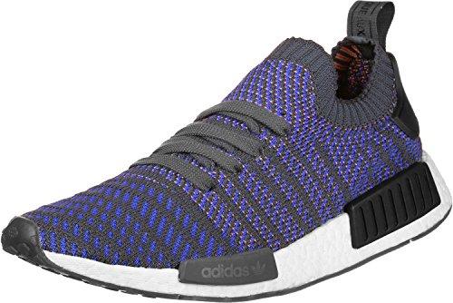 adidas Women's NMD_r1 Primeknit Trainers blau grau meliert D8OwmimXy