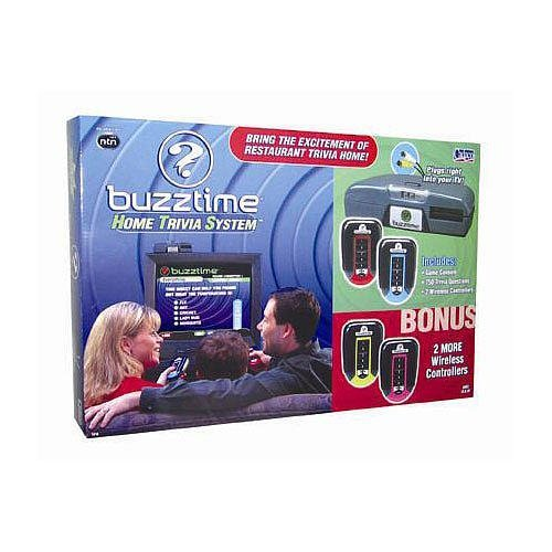 NTN Buzztime Home Trivia System with 2 Bonus Controllers