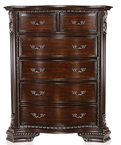 247SHOPATHOME IDF-7267C, Chest, Cherry