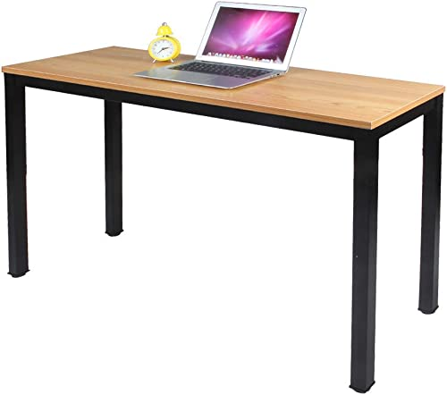 Need Computer Desk 47L15.7W Computer Table with BIFMA Certification Writing Desk Side Table Office Desk Teak, AC3BB-40