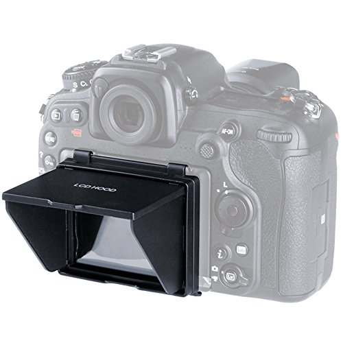 Pop Hood Screen Lcd Up (Sun Shield Pop-up LCD Hood,Sun Shade & Screen Protector for Camera LCD HOOD (Camera LCD HOOD-Nikon D500))