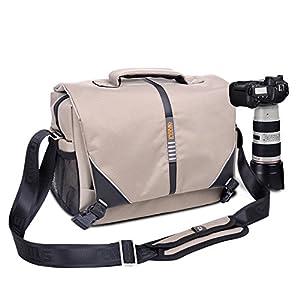 Stebcece DSLR Camera Shoulder Messenger Bag Case Shockproof For Nikon Sony Canon Pentax