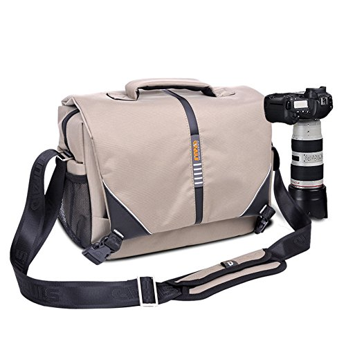 Price comparison product image Stebcece DSLR Camera Shoulder Messenger Bag Case Shockproof For Nikon Sony Canon Pentax