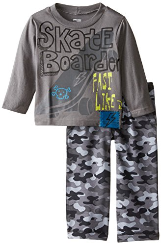 Gerber Graduates Baby Boys' Skate Board Long Sleeve