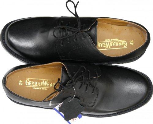 Business-schuhe Halbschuhe Lederschuhe Schuhe schwarz
