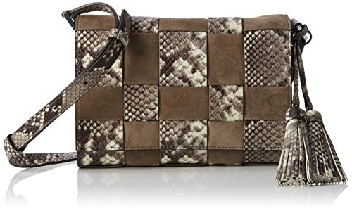 Michael Kors Women's, Vivian Shoulder Bag, Beige (Natural/Dark Dune 264)