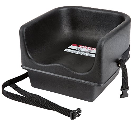 (Cambro 100BCS Black Single Seat Booster Chair with Strap)