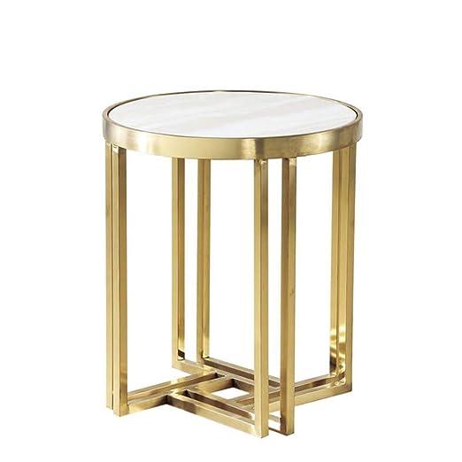 YNN Table Mesa de Centro Redonda Simplicidad Moderna Mesa de ...