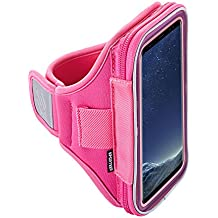 Sporteer Velocity V7 Armband for iPhone 8 Plus, 7 Plus, 6S Plus, Pixel 2 XL, Galaxy Note 8, Galaxy S9 Plus, Galaxy S8 Plus, S8 Active, LG V30, Xperia XA2, Otterbox, Lifeproof Cases, MANY Other Phones