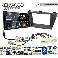 Volunteer Audio Kenwood DMX7704S Double Din Radio Install Kit with Apple CarPlay Android Auto Bluetooth Fits 2010-2013 Hyundai Tucson