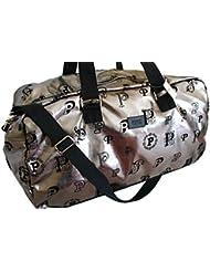 Victorias Secret PINK Metallic Duffle Bag Tote Bag Gym Travel Carry