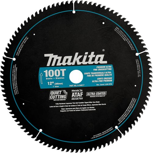 12 100 tooth saw blade - 2